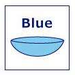 ブルーのレンズ