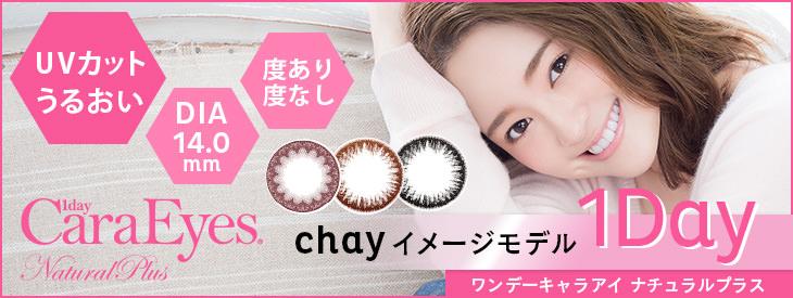 ワンデーキャラアイ ナチュラルプラス 1Day Cara Eyes natural plus